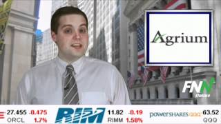 Agrium Blows Away Estimates And Offers Guidance