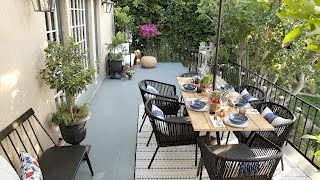 Emily Henderson's Patio Makeover with Target