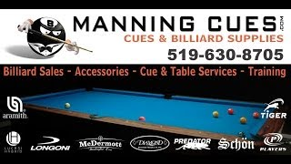 Professional Tip Install & Shaft Cleaning - www.manningcues.com