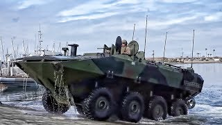 NEW USMC Amphibious Combat Vehicle To Replace Old AAV (DEMO)