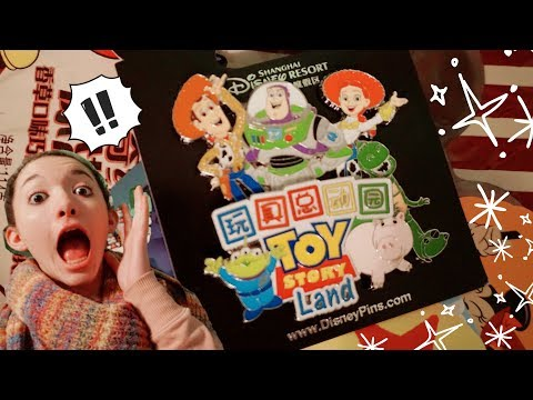Tokyo Disneyland and Shanghai Disney Resort Merchandise Package!! Toy Story Land, Food, and More!