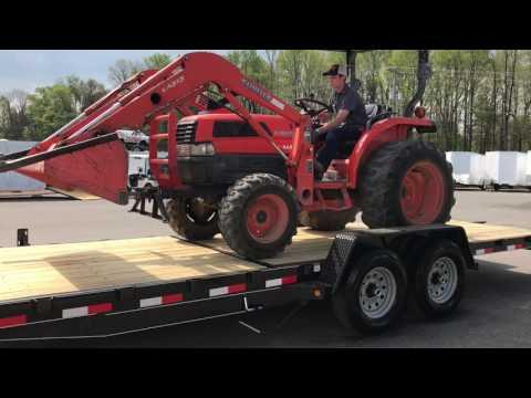 14,000 GVW Tilt Equipment Trailer