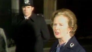 Archive: Thatcher 'rejoices' at Falkland victory
