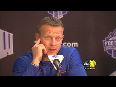 Mountain West Football Championship Press Conference - Boise State Broncos