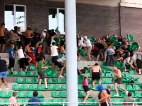 Zenit Saint Petersburg Petrozavodsk Karelia hooligans