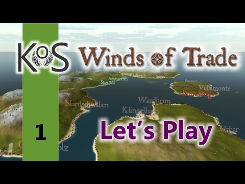 Winds Of Trade Ep 1: Broken Biscuits Trading Co. - First Look - Let's Play, Gameplay