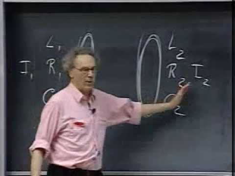 Lec 25: Driven LRC Circuits and Resonance | 8.02 Electricity and Magnetism (Walter Lewin)