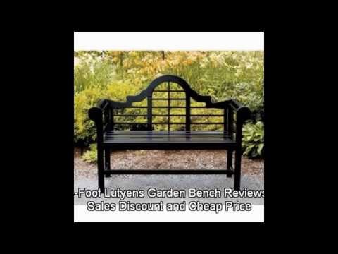 4-Foot Lutyens Garden Bench Reviews Sales Discount and Cheap Price