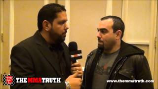 Malki Kawa from First Round Management - Favorite and not-so-favorite UFC moments in 2012