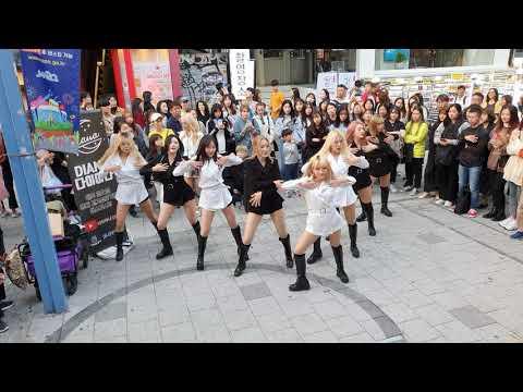 다이아나 버스킹 게스트 댄스팀 U.A(UNIQUE AWESOME)/ Feel Special-TWICE(트와이스) 20191020 홍대버스킹