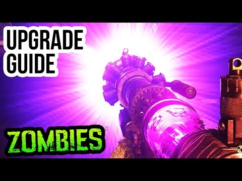 "FINAL REICH TESLA GUN UPGRADE GUIDE & TUTORIAL!! (WW2 Zombies ""HURRICANE"" Upgrade Tutorial)"