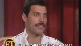 Interview-Freddie Mercury (JP sub) 1982年フレディー・マーキュリーのインタビュー