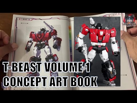 T-Beast Book Volumes 1 & 2 (Transformers Concept Art) Review by Larkin's Lair