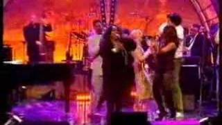 "Ruby Turner, Jools Holland and others : TV Clip - ""Up Above My Head"""
