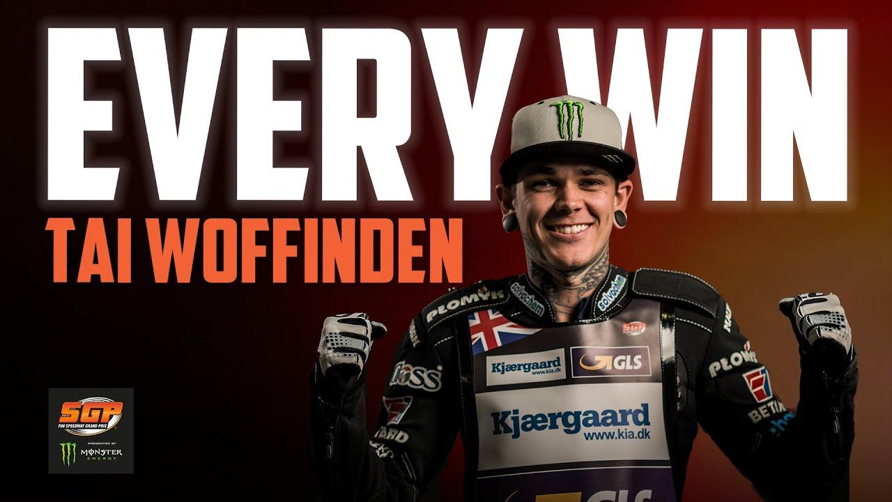 Every Tai Woffinden Win! | FIM Speedway Grand Prix
