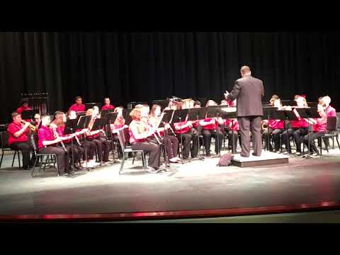 Fox Middle School JV Band perform Psalm 42