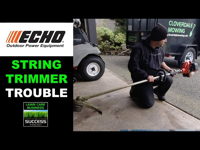 String Trimmer Trouble | How to clean the spark arrestor screen on a ECHO SRM-2620T
