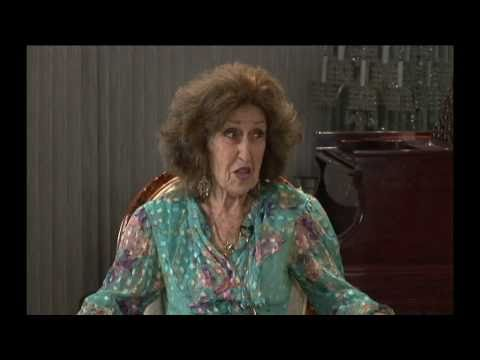 IDA HAENDEL IN CONVERSATION 2010 Part 1