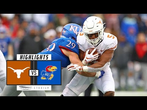 No. 14 Texas vs. Kansas Football Highlights (2018) | Stadium