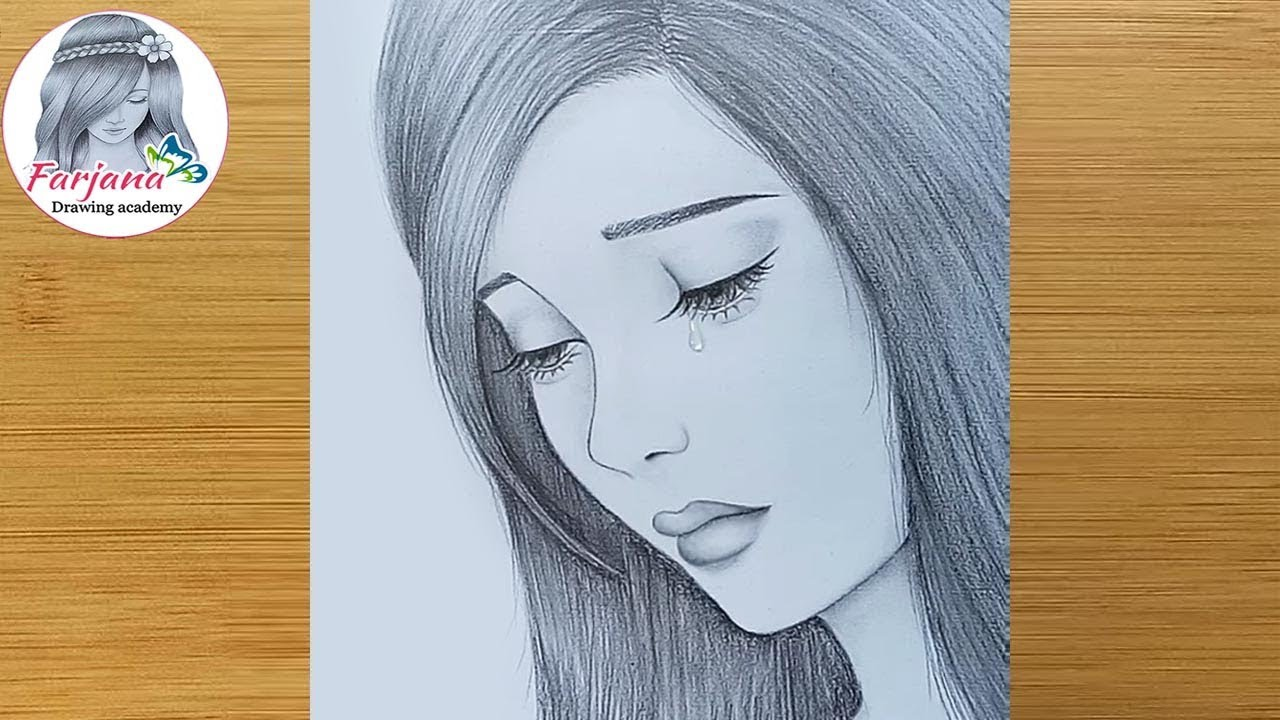 20  New For Simple Sad Girl Face Drawing Easy