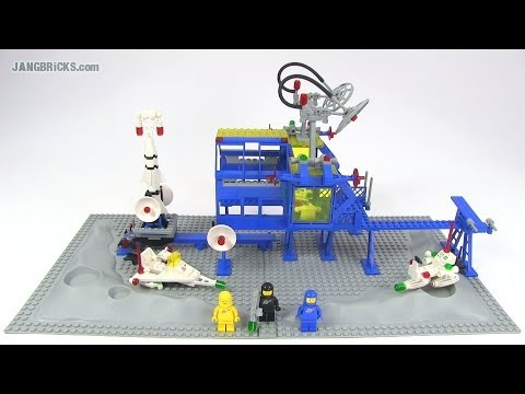 LEGO Classic Space 6971 Inter Galactic Command Base! 1984