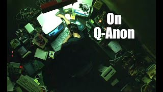 Deep Code Bits: Regarding QAnon