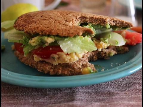 RECETA SALUDABLE: SandwichFit de salvado de trigo / Vegetariano