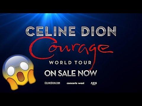 CÉLINE DION     2019 COURAGE WORLD TOUR SPOT Mp3