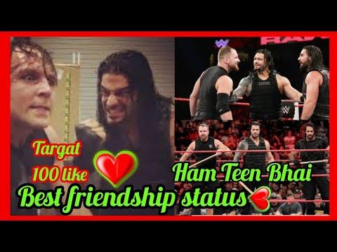 Ham Teen Bhai || Roman Reigns Dean Ambrose And Seth Rollin || Wwe Best Friendship WhatsApp Status ||