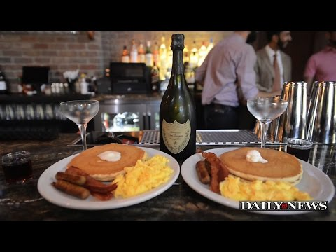 NYC Denny's offers $300 breakfast with Dom Perignon