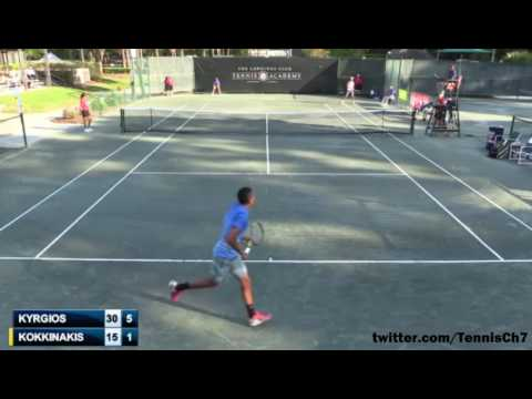 Nick Kyrgios vs Thanasi Kokkinakis Highlights SAVANNAH