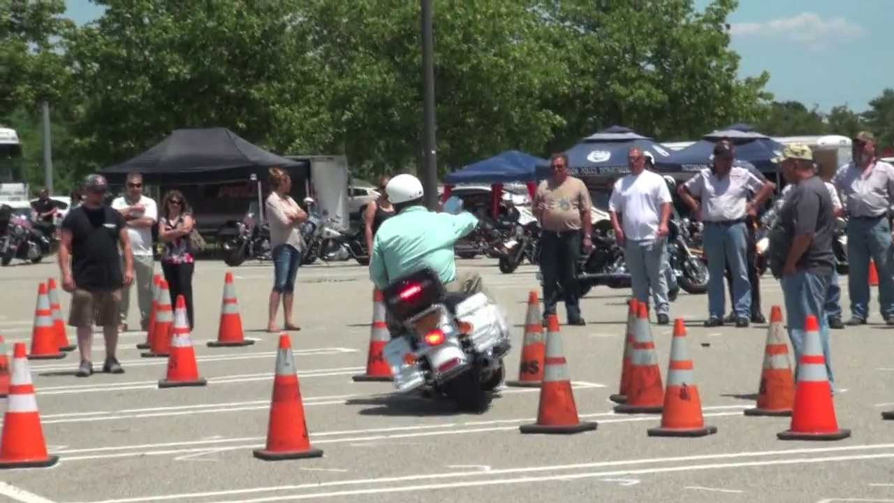 POLICE MOTORCYCLE SKILLS COMPETITION 2013