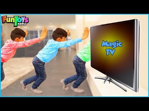 Jason Plays with Toys and Family | Magic TV Funny Kids Day