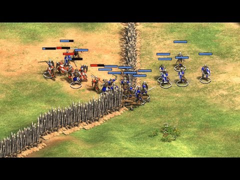 AoE2:DE - 5. BATTLE OF STIRLING (HARD Difficulty)   WILLIAM WALLACE