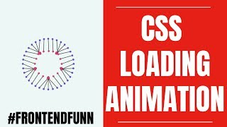 html css javascript - Pure CSS Spinner Loader Animation Tutorial