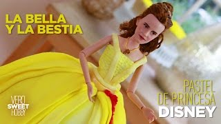 La Bella y la Bestia 2017! Pastel Disney de Bella de la película