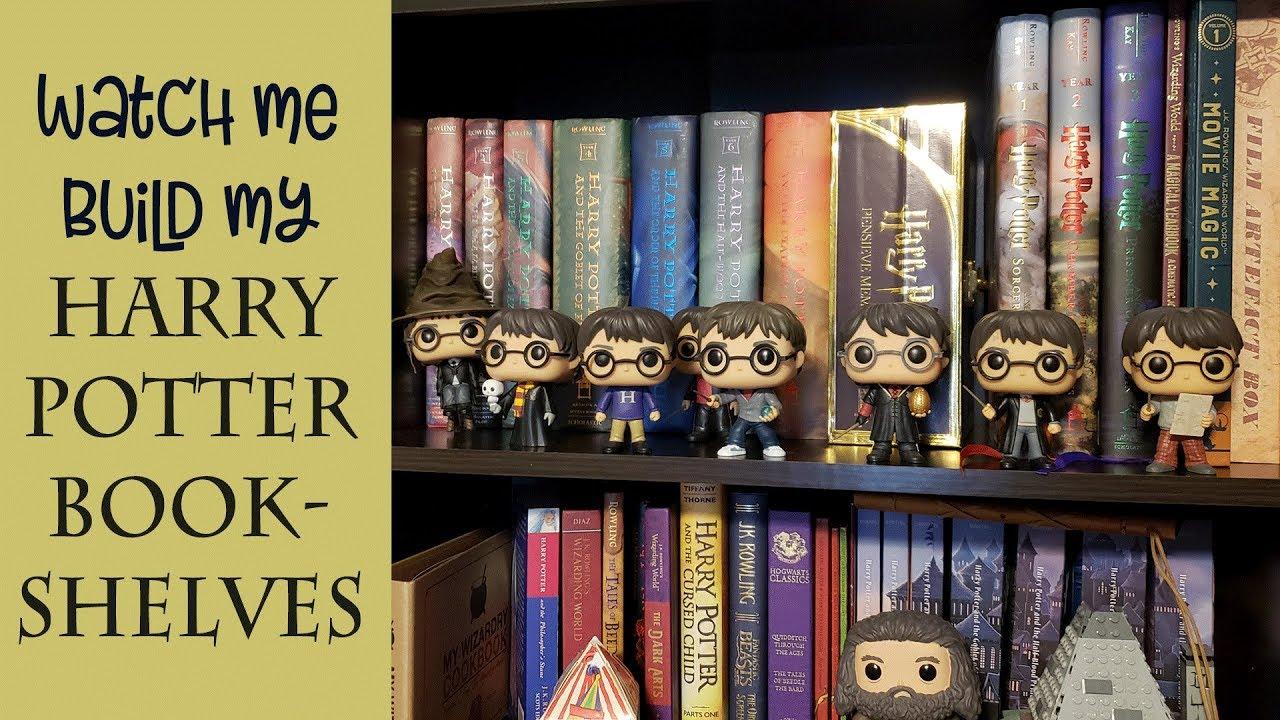 Building My Harry Potter Bookshelves