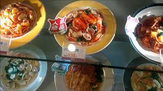 ТАЙВАНЬ. ФУДКОРТ В ТОРГОВОМ ЦЕНТРЕ / TAIWAN. FOOD COURT IN A SHOPPING MALL