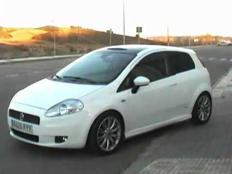 fiat punto grande tuning youtube. Black Bedroom Furniture Sets. Home Design Ideas