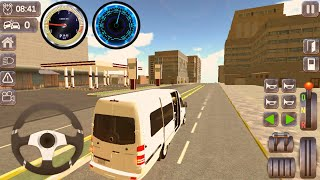 Minibus Dolmus Bus Simulation Game 2021 - All Levels Game play Android,IOS #1 screenshot 5