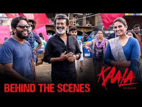 Kaala Karikaalan - Behind The Scenes featuring Sadkon Ke Deepak Song | Rajinikanth | Pa Ranjith