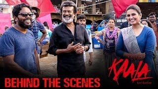 Kaala Karikaalan Behind The Scenes featuring Sadkon Ke Deepak Song | Rajinikanth | Pa Ranjith