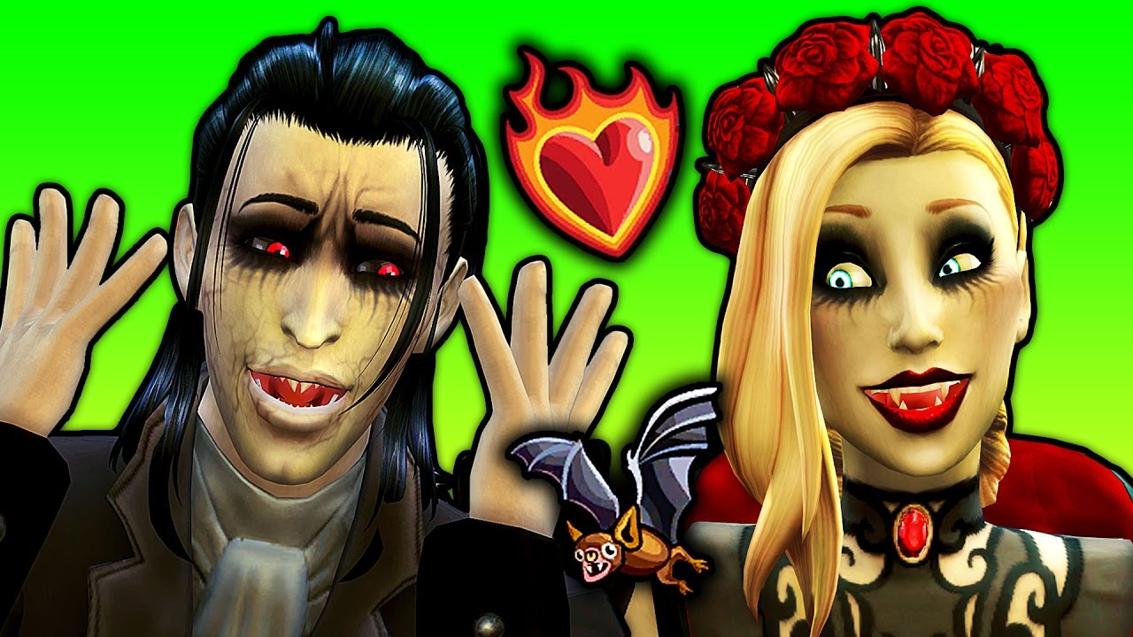 Download The Sims 4 VAMPIRES (Part 3) | Try for Baby as BATS?!