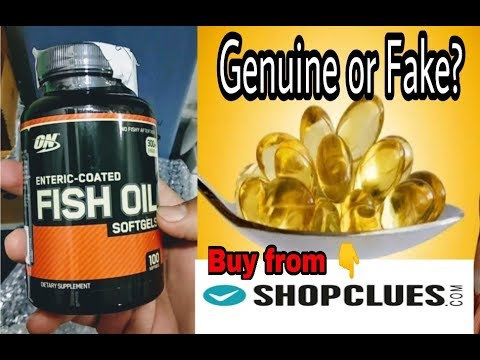 Fish Oil Omega 3 Optimum Nutrition, Unboxing Buy From Shopclue