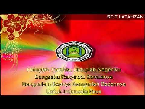 Instrumen Lagu Wajib Nasional -  Indonesia Raya - Lirik [New Version]