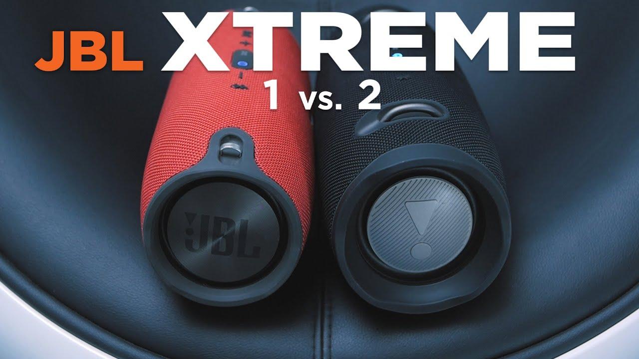 Jbl xtreme 1 vs 2