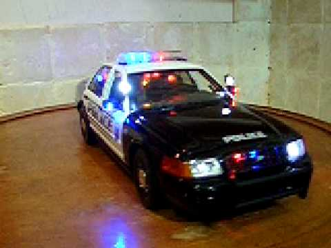1/18 City Of Modesto, CA Police wnit W.Lights and SIREN ...