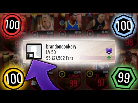 NBA Live Mobile - OMG FIRST 100 OVERALL FRANCHISE IN THE GAME!! 13 99 OVERALL PLAYERS! INSANE TEAM!!