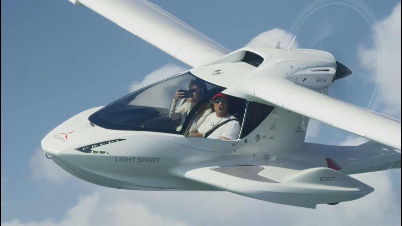 Miami to The Bahamas in the ICON A5