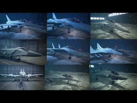 Ace Combat 7 - 9 Aircraft Profile So Far